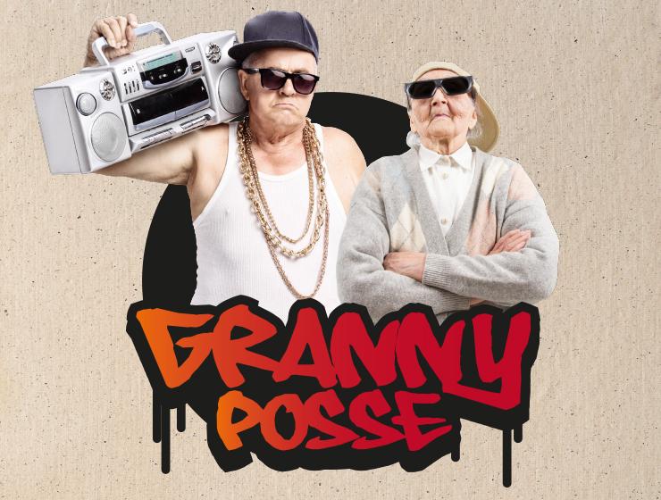 Logoform Portfolio: granny posse